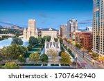 Salt Lake City  Utah  Usa...