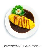 Omurice Omelette With Rice In...