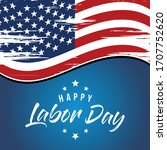 Labor Day Greeting Card With...