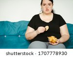 Overeating And Gluttony Concep...