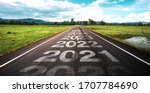 2020 2025 Written On Highway...
