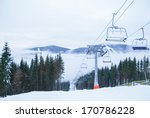 chairlift and mountain | Shutterstock . vector #170786228