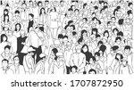 illustration of large city... | Shutterstock .eps vector #1707872950