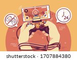 Online Gaming Addictive Flat...