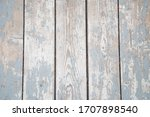 Blue Wooden Wall  Fence  In...