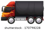 illustration of a luggage truck ... | Shutterstock .eps vector #170798228