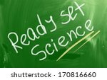 ready set science concept | Shutterstock . vector #170816660