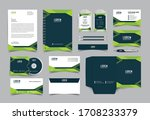 corporate identity template... | Shutterstock .eps vector #1708233379