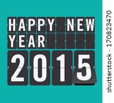 Happy New Year 2015 Vector...