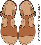 Fashion Illustration. Sandals...