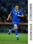Small photo of Bern, SWITZERLAND - June 9, 2008: Alessandro Del Piero in action during the UEFA Euro 2008 Netherlands v Italy at Stade de Suisse.