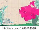 retro   city pop 70s style... | Shutterstock .eps vector #1708351510