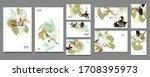 elegant natural pastel muted... | Shutterstock .eps vector #1708395973