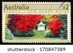 australia   circa 1989  a stamp ... | Shutterstock . vector #170847389