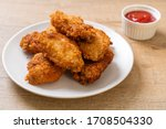 Fried Chicken Wings With...