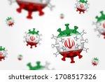 covid 19 . 3d floating corona... | Shutterstock .eps vector #1708517326