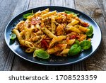 Chicken Ragout With Penne On...