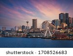 Downtown Seattle Skyline With...