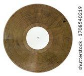 twelve inch single color brown...   Shutterstock . vector #1708540219