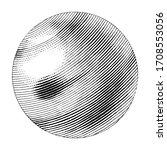 neptune hand drawing vintage... | Shutterstock .eps vector #1708553056