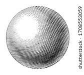 uranus hand drawing vintage... | Shutterstock .eps vector #1708553059