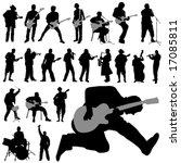 set of musician vector | Shutterstock .eps vector #17085811
