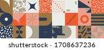 new retro aesthetics in... | Shutterstock .eps vector #1708637236
