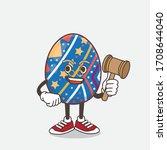 an illustration of easter egg... | Shutterstock .eps vector #1708644040