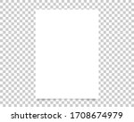 vector paper format a4 size... | Shutterstock .eps vector #1708674979