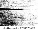 black and white grunge texture. ... | Shutterstock .eps vector #1708675609