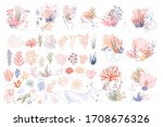 collection of woman face... | Shutterstock .eps vector #1708676326