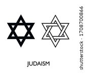 Star Of David Icon. Generally...