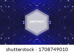 technological background....   Shutterstock .eps vector #1708749010