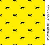 Vector Pattern Made With A Cat...
