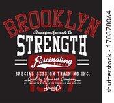 t shirt graphics | Shutterstock .eps vector #170878064