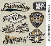 t shirt graphics | Shutterstock .eps vector #170878076