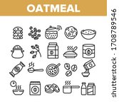 Oatmeal Healthy Food Collection ...
