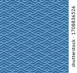 japanese blue wave vector...   Shutterstock .eps vector #1708836526