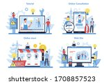 electricity works service... | Shutterstock .eps vector #1708857523