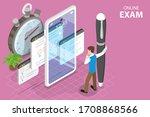 3d isometric flat vector... | Shutterstock .eps vector #1708868566