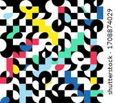 Abstract Pattern With Colorful...