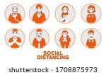 illustration people doing...   Shutterstock .eps vector #1708875973
