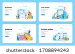 economics and finance web... | Shutterstock .eps vector #1708894243