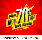 up to 70 off  further... | Shutterstock . vector #1708898806