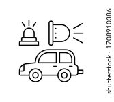 beacon on  car repair icon....