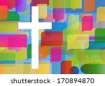 christianity cross religion... | Shutterstock .eps vector #170894870