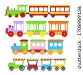 Cartoon Color Train Toy...