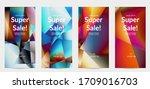 abstract irregular polygonal...   Shutterstock .eps vector #1709016703