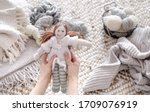 Handmade Knitted Toys With...