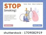 stop smoking banner website...